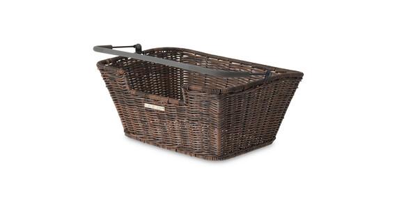 Basil Capri-Rattan Look Flex Cykelkorg brun
